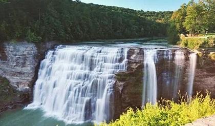 纽约州瀑布