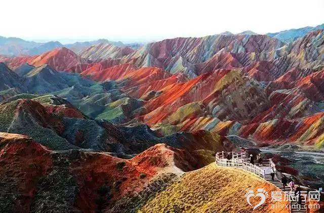 丹霞地貌中國