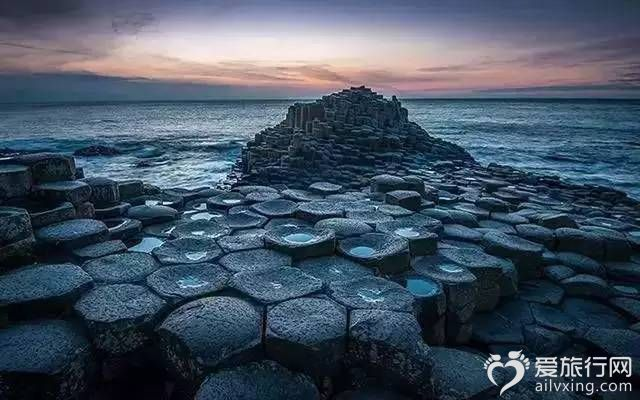 巨人堤道北愛爾蘭