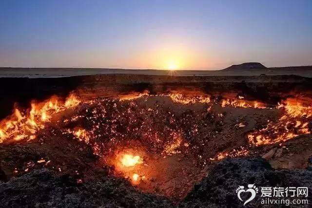 地獄之門土庫曼斯坦