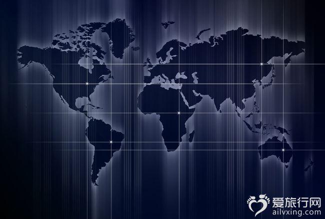 全球五大洲