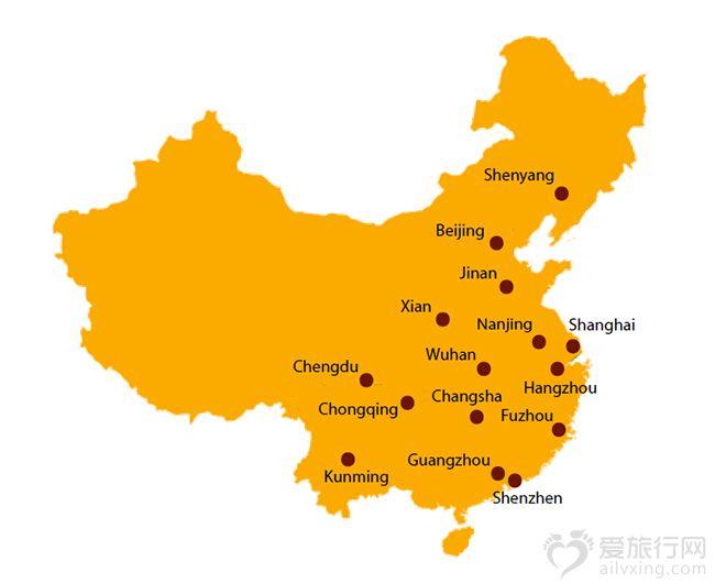 成都济南青岛地图