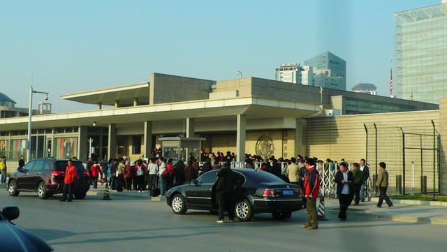 北京三里屯美国使馆