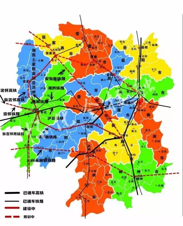 怀化市区地图全图详细