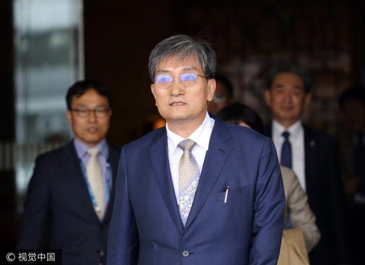 韩国新任驻华大使卢英敏赴京上任