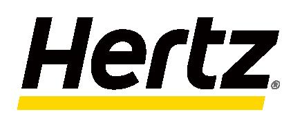 赫兹租车网站logo