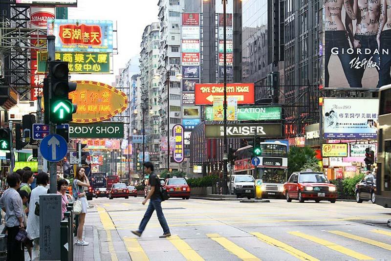 香港艺人收入排名_香港街景